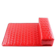 Paradise 2016 Hot Column Salon Hand Holder Rectangle PU Leather Pad Nail Arm Rest Manicure Nail Tools Free Shipping May06(China (Mainland))