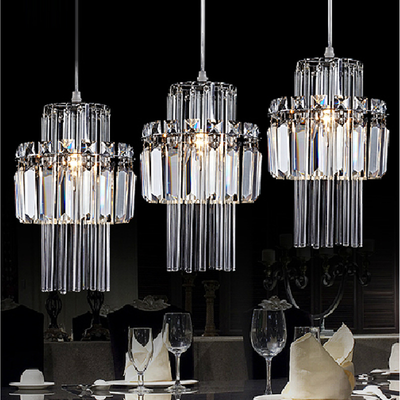 Buy 1 Light French Dining Room Pendant Lights Crystal