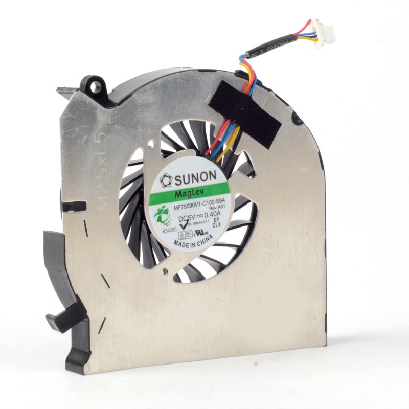 Silver Laptops Computer Replacements Cooling Fan CPU Cooler Power 5V 0.4A Fan Accessories Fit For HP DV6-7000/DV7-7000 F1171 P72(China (Mainland))