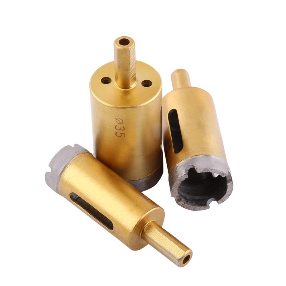 4mm diamond twist drill bit - 1pc Diamond Drill Bit Hole Saw Tool For Ceramic Marble Glass Stone Optional Size 6mm