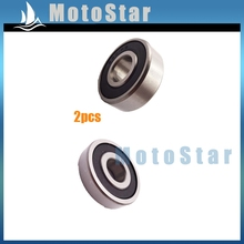 Buy 2x 10x30x9mm Rubber Sealed Ball Bearing 6200 RS ATV Quad Pit Motor Dirt Bike Motorcycle Motocross for $4.99 in AliExpress store