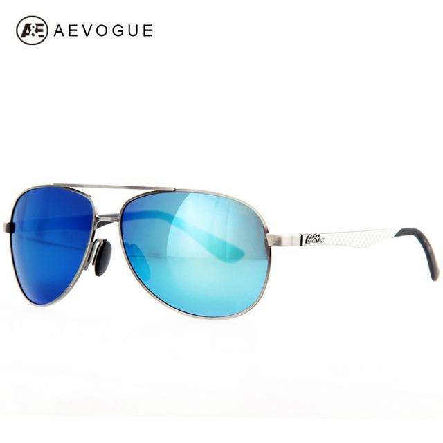 Aevogue дизайн TR90 храм марка поляризованных солнцезащитных очков мужчины старинные Высокое качество солнцезащитные очки поляроидный UV400 AE0179