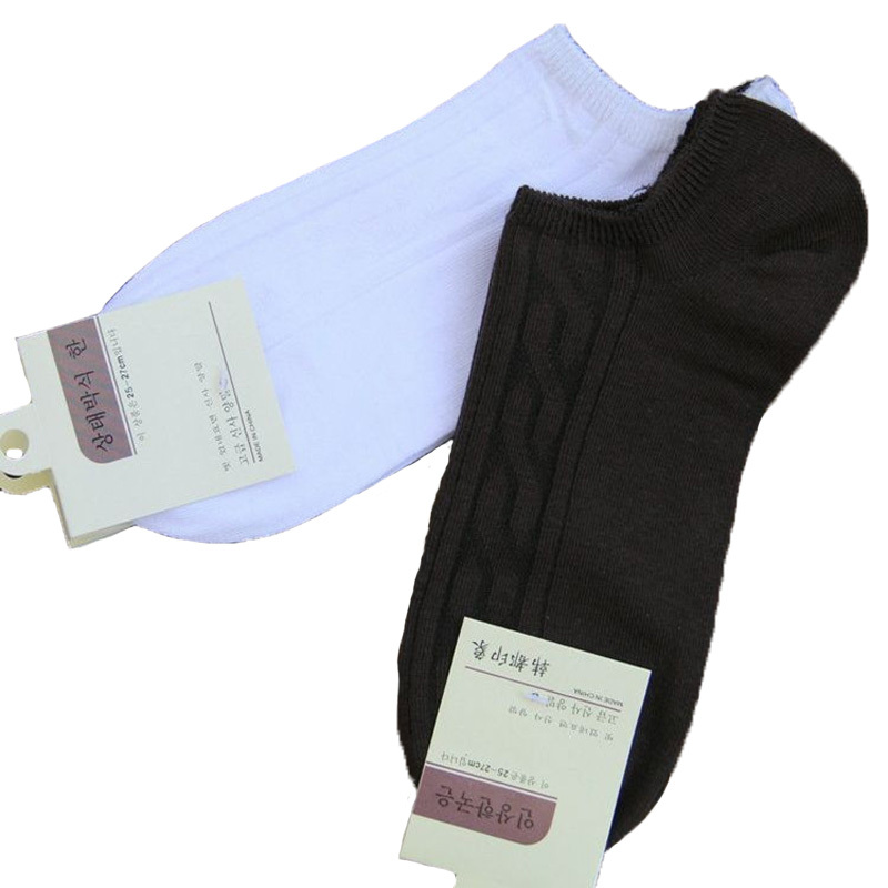 Hot 2016 Summer Men Socks Black Pure color Spring Cotton Boat Socks Men Short Cheap Socks Bulk 5pair/lot(China (Mainland))