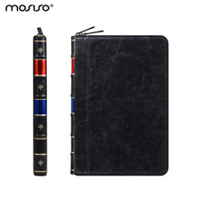 Mosiso PU Leather Case for Apple MacBook Pro Retina 13 A1502 A1425 Smart Cover Luxury Vintage Old book Bible Style Laptop Sleeve