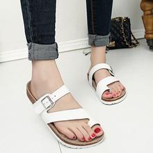 HOT 7 kinds Beach Shoes woman fashion summer slip on flat sandals for woman Designer brand women's sandals