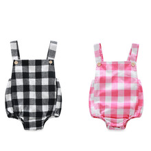 2016 Baby Boy Girl Rompers Summer Sleeveless Bebes Clothing Sets Roupas Infantis Newborn Baby Clothes Jumpsuits Cute Rompers