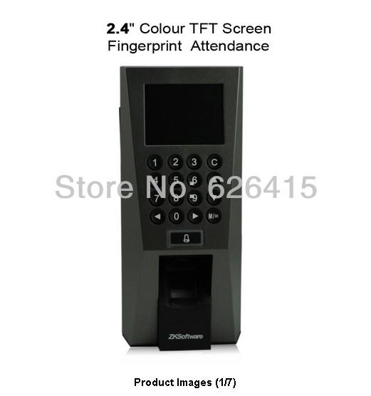 Fingerprint reader 2.4 Colour TFT Screen Fingerprint Password Attendance Access Control AIO Reads Fingerprint and/or Card