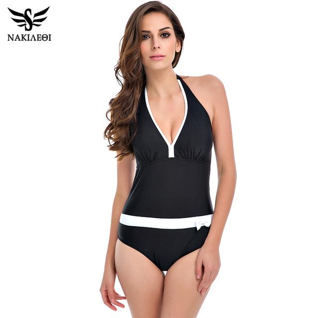 2016 новый купальник женщины винтаж короткий топ Большой размер купальники сексуальные монокини лето одежда для