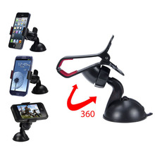 360 Degree Rotating Car Phone Windshield Sucker Mount Bracket Stand Universal for Phone GPS Tablet PC Accessories holder(China (Mainland))
