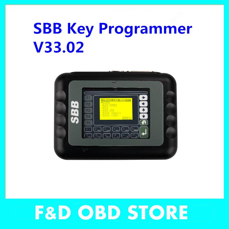 DHL Free Silca SBB Key Pro with newest version V33.02 High Quality Auto Key Programmer SBB Silca Key fast ship in stock(China (Mainland))
