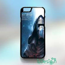 Fit for iphone 4 4s 5 5s 5c se 6 6s plus ipod touch 4/5/6 back skins cellphone case cover Kylo Ren Star Wars The Force Awakens