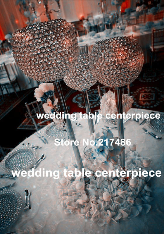 wholesale crystal flower stand candelabra center tables , decorative wedding crystal candle holder centerpieces(China (Mainland))