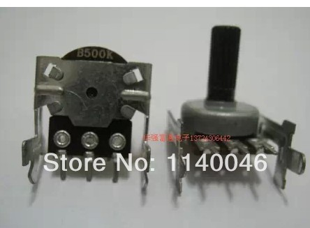 Taiwan produced a single joint potentiometer volume potentiometer 161 single-B500K with bracket (15 pedicel)(China (Mainland))