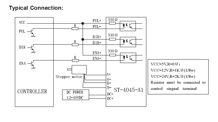 Single Axis 4A TB6600 Stepper Motor Driver Controller 9~40V Micro-Step CNC