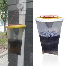 New arrival fully functional Environmental Flies be Gone Non Toxic Fly Trap Flies Away For Home and Camping hot promotion sale(China (Mainland))