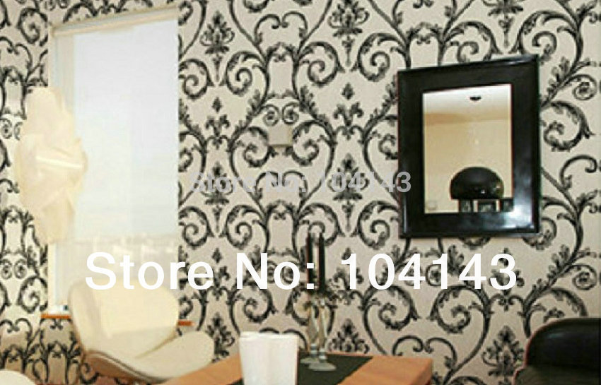 Фотография Best Price Royal Embossed Wallpaper PVC Covering Wall Paper For Living Room 7166/1