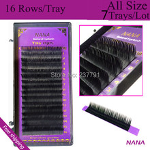 D curl,0.25mmT,8mm~14mm high-quality eyelash extension mink.