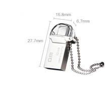 DM PD008 OTG USB 100 32GB USB Flash Drives OTG Smartphone Pen Drive Micro USB Metal