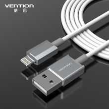 Buy VENTION Latest metal Aluminum Wire 8 pin USB Date Sync Charging Charger Cable 1m iPhone 5 5s 6 plus iPad 4 fit IOS8 for $3.75 in AliExpress store