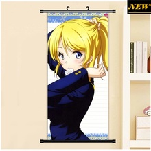 45X95CM Love Live! School Idol Project Ayase Eli Cartoon Anime art wall picture mural poster art cloth scroll canvas paintings