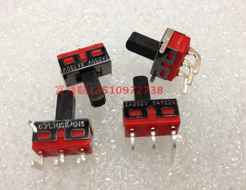 [VK] Original pull switch band 3 curved foot Q15 dial 2A250V(China (Mainland))