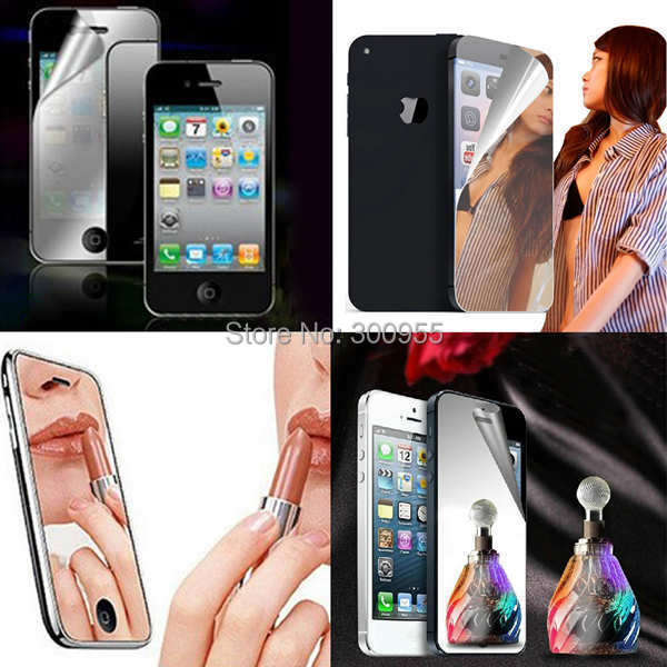 5.5 inch Hot Mirror LCD Screen Protector Front Film Cover iPhone 6 plus WHD1067 - poplar1115 store