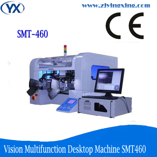 Electronic Circuit Board Smt Automatic Pick and Place Machine Production Line For Led Lamps SMT460(China (Mainland))