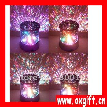 Creative Star led Projection Lamp/star beauty,Party lights/Creative Glow Lamp,LED lights,party lamp