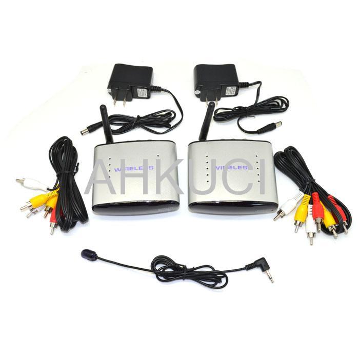 2 4GHz Wireless AV Sender TV Audio Video Transmitter Receiver consumer electronics Accessories