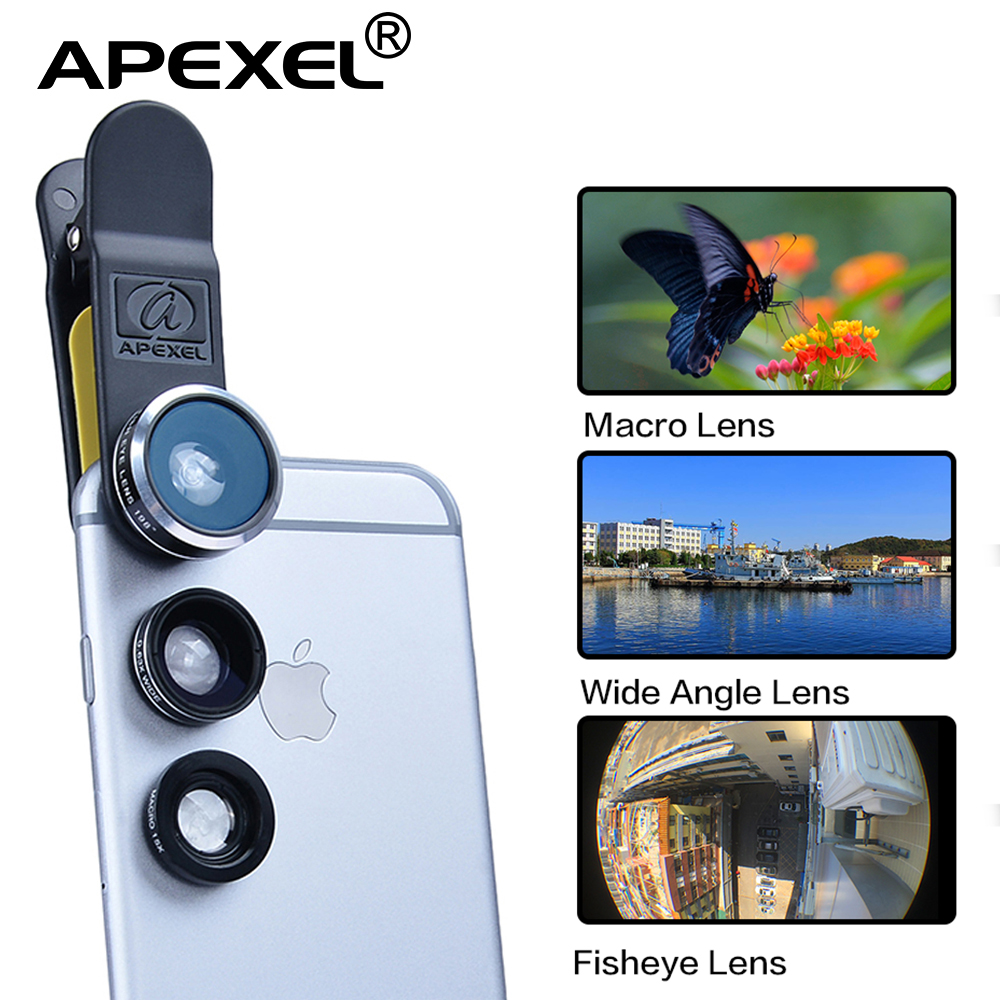 3in1 15X Macro <font><b>lens</b></font>& wide <font><b>lens</b></font> +198 degree fisheye <font><b>Mobile</b></font> <font><b>Phone</b></font> Camera <font><b>Lenses</b></font> kit for iPhone 6s iPhone 5 and Xiao mi <font><b>Phones</b></font> DG3