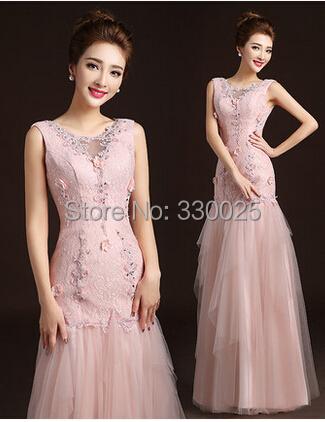 Robe De Soiree Vestito Da Sera 2016 Long Prom Dress Party Evening Gowns Double Shoulder The Bride Fish Tail Vestidos De Noche(China (Mainland))