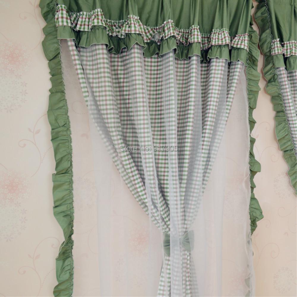 Aliexpress.com: koop elegante legergroen slaapkamer gordijnen ...