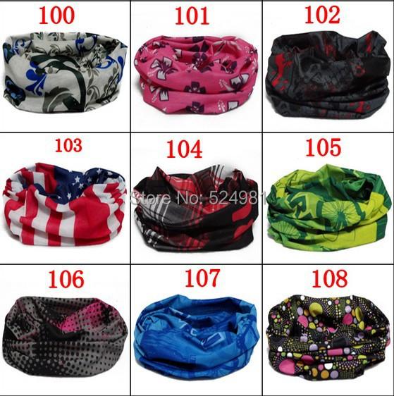 Free shipping! scarf outdoor multifunctional magicaf sunscreen magic bandanas sunscreen muffler scarf 101-121 style(China (Mainland))