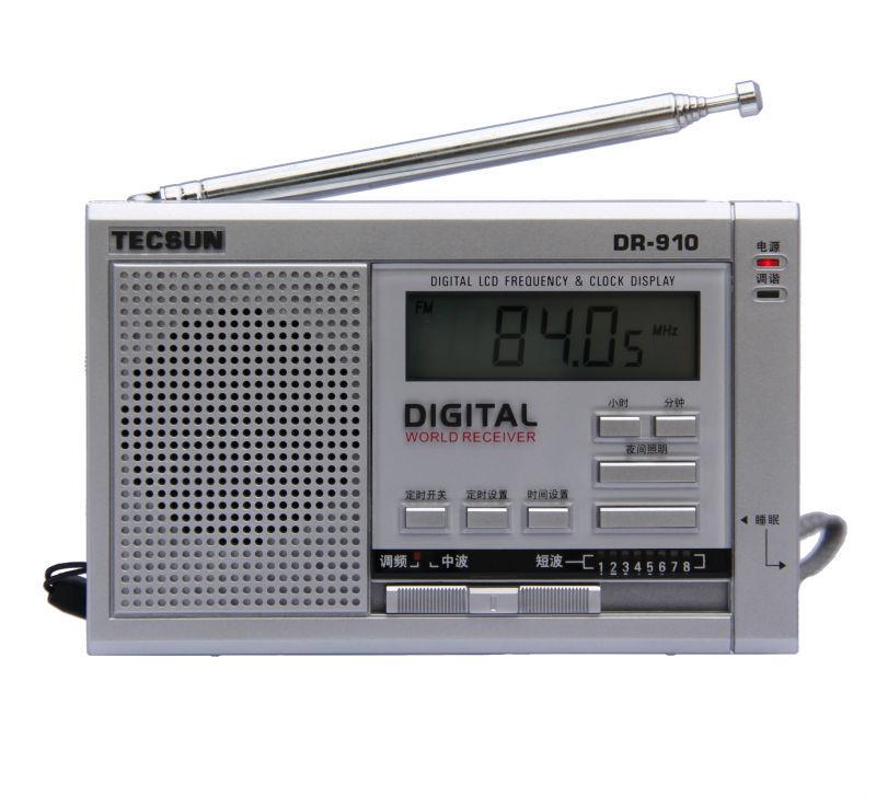 TECSUN DR-910 Digital FM, MW, SW World Band Radio(China (Mainland))