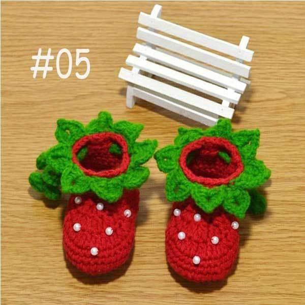 EastFork Baby Girl Crochet Knit Socks Crib Soft Shoes Newborn Prewalker(China (Mainland))