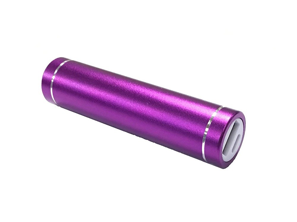 2600mAh Lipstick-sized Portable Power Bank External Mobile USB Battery Charger for Cell Phone
