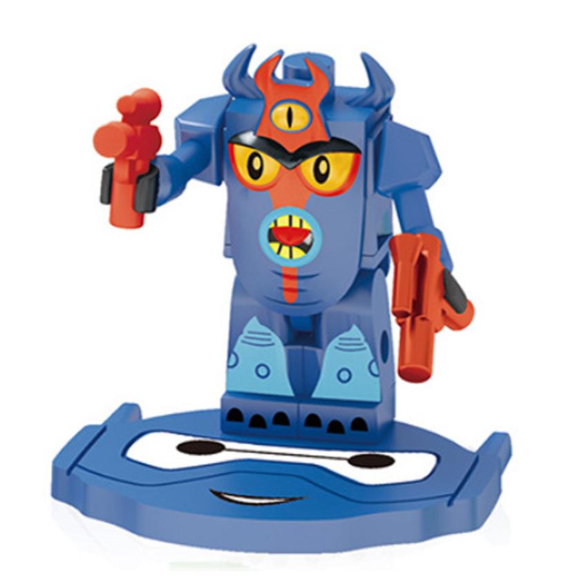 anime Big Hero 6 Baymax Hiro Hamada Fred Figures Super Fun Toys Kits Minifigures Bricks Building Blocks Compatible Child Gift(China (Mainland))