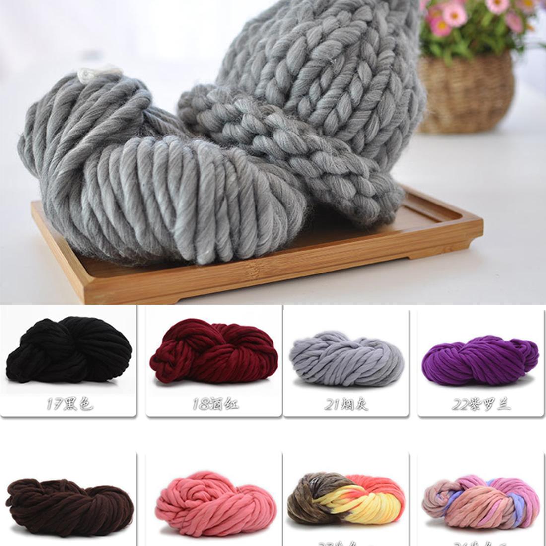 Beautiful Soft Acrylic Yarn Thick for Knitting Baby Wools Crochet Yarn ...