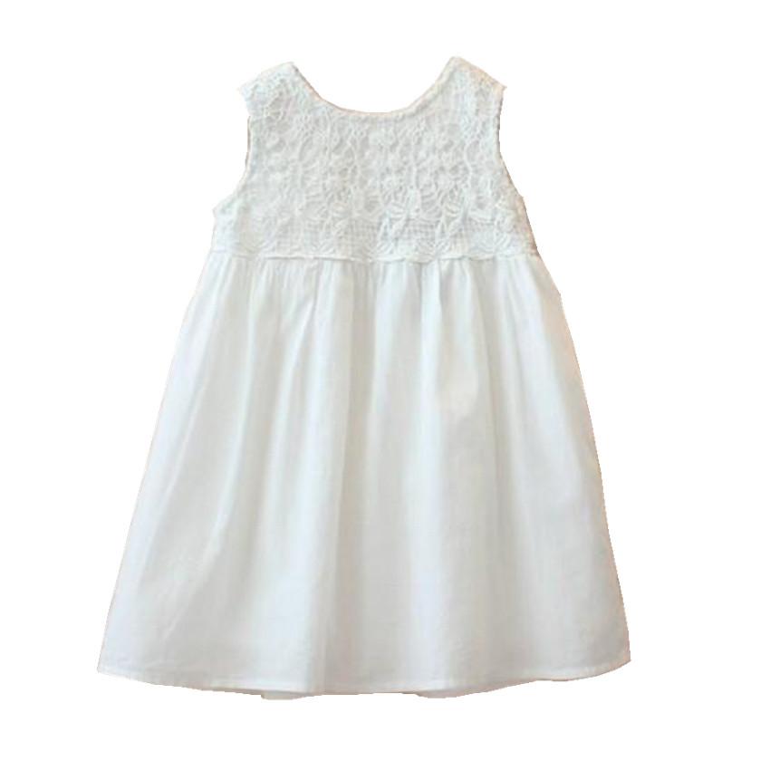 Popular Girls Plain Cotton Dress-Buy Cheap Girls Plain Cotton ...
