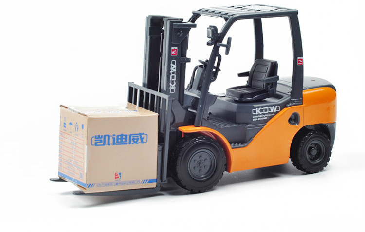 Mini Engine Truck 1:20 Scale Forklift Truck Metal Die Cast Model Toy Cars(China (Mainland))