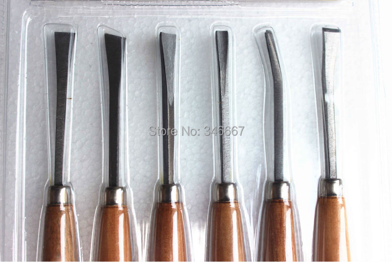 Free shipping 6 pcs Carving chisel set  Wood carving tools Woodworking chisel carved  root carving tools<br><br>Aliexpress