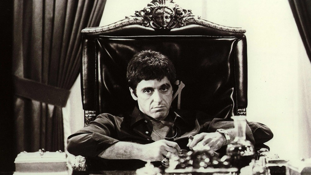 Scarface movie poster family silk poster wall print 24x36 inches(China (Mainland))