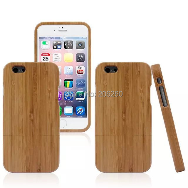 Luxury Wood Bamboo Lines Hard Plastic Cover Back Case For iphone 6G New Arrive 4.7'' Hard Case For iphone 6G(China (Mainland))