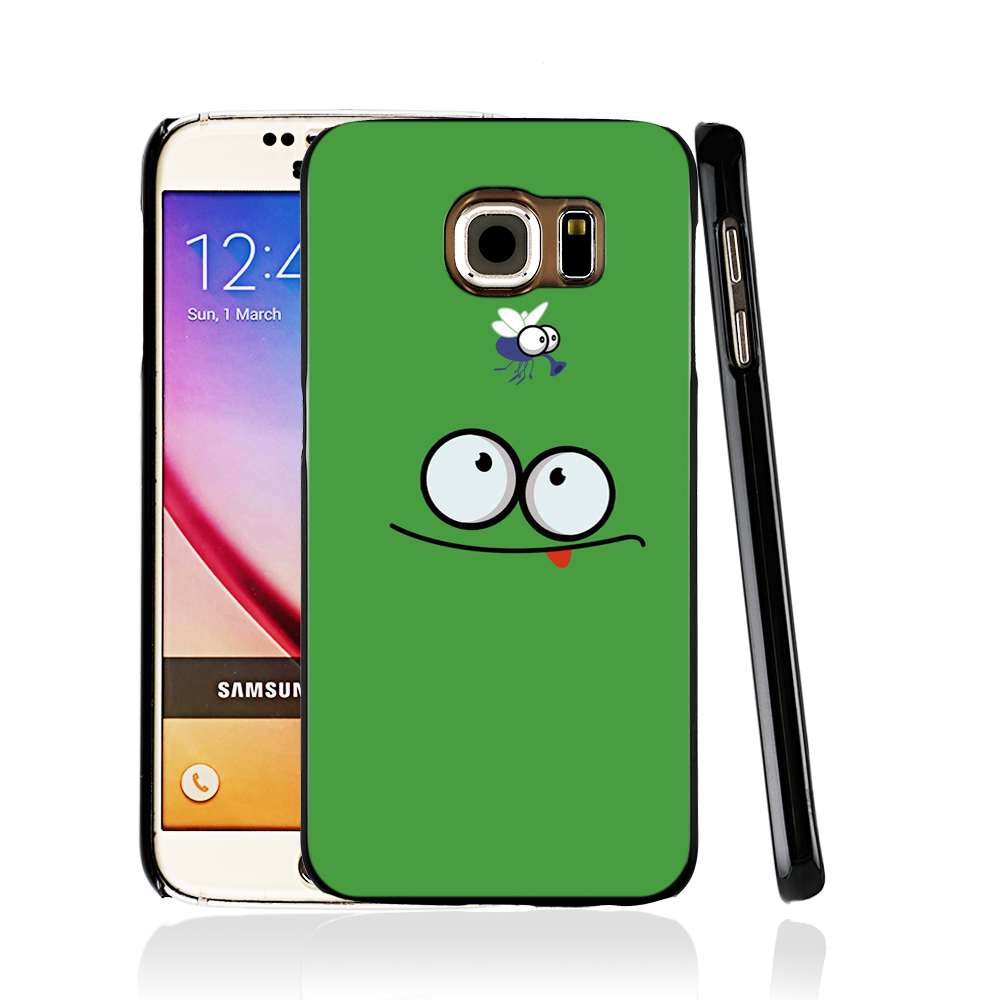 13694 frog insect look funny cell phone case cover for Samsung Galaxy edge PLUS S7 S6 S5 S4 S3 MINI(China (Mainland))