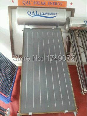 250L Flat Plate Solar energy Flat Panel Solar Water Heater, Blue Titanium solar Collector,High Efficiency and Quality(China (Mainland))