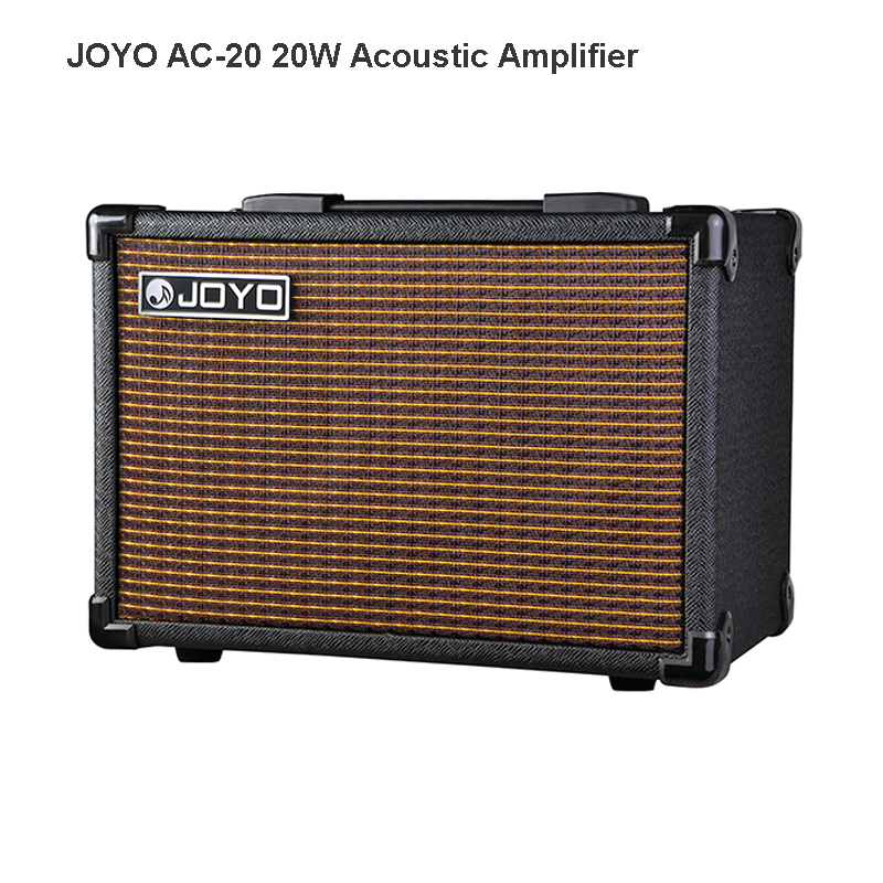 JOYO AC-20 20w Amplifier for Acoustic Guitar 3 built-in digital effects of Chorus, Delay and Reverb Volume Control AMP Free Ship(China (Mainland))