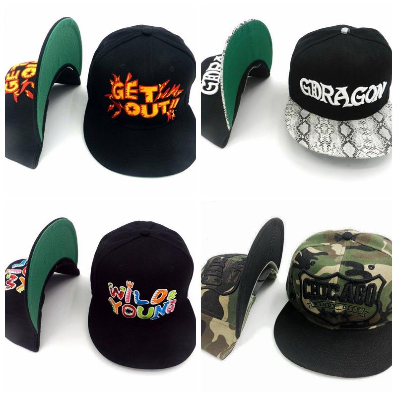 Gget out Snapbacks Hats Bones men adjustable baseball cap women gorras Gold leopard camouflage cool sun hat(China (Mainland))