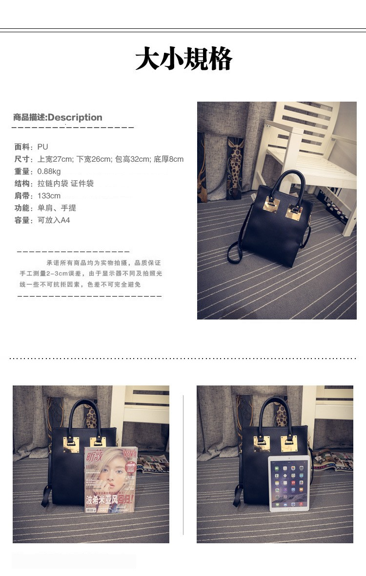 Solid OL Famous Shoulder Bag Luxury Handbags Women Bags Designer Fashion Tote Ladies Bags High Quality Women Handbag Clutch T81