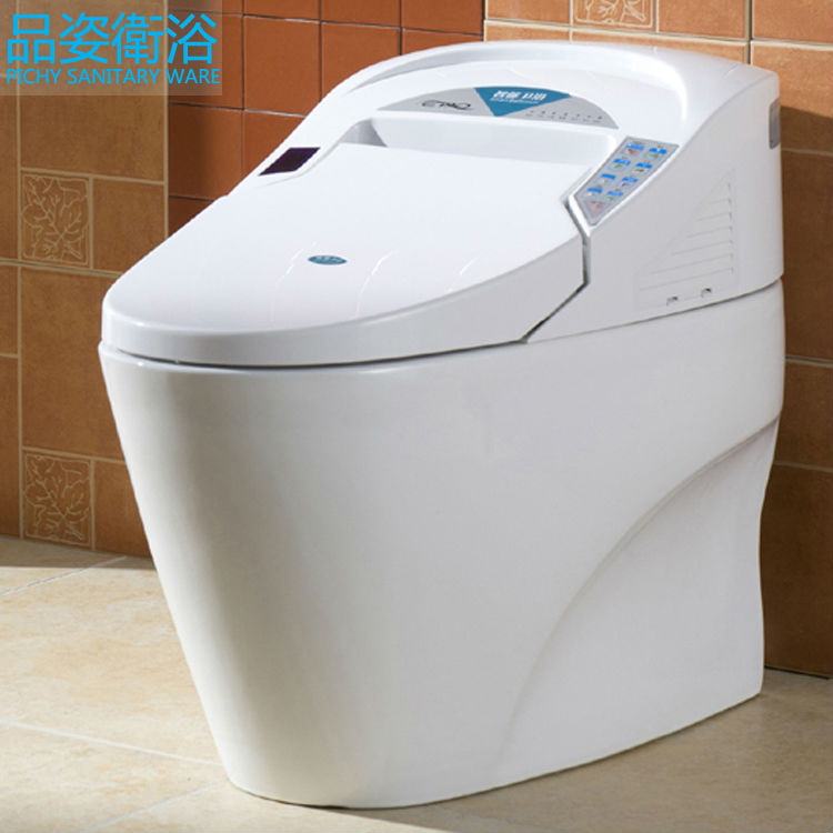 Automatic Toilets For Homes : Hot sale one piece toilet smart automatic