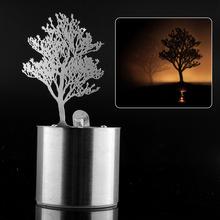 Romantic Dreamlike LED Shadow Magnolia Tree Saving Projector Reflection Night Light Amazing Chidren Fantastic Gift(China (Mainland))